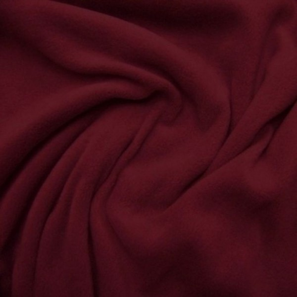 Antipilling Fleece ANTJE bordeaux