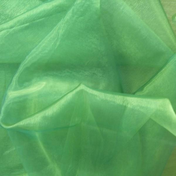 Organza GLAMOUR grün-blau