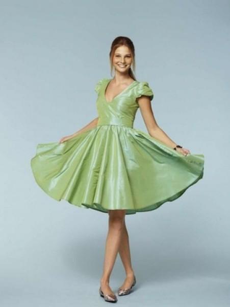 burda Schnitt Kleid 7556
