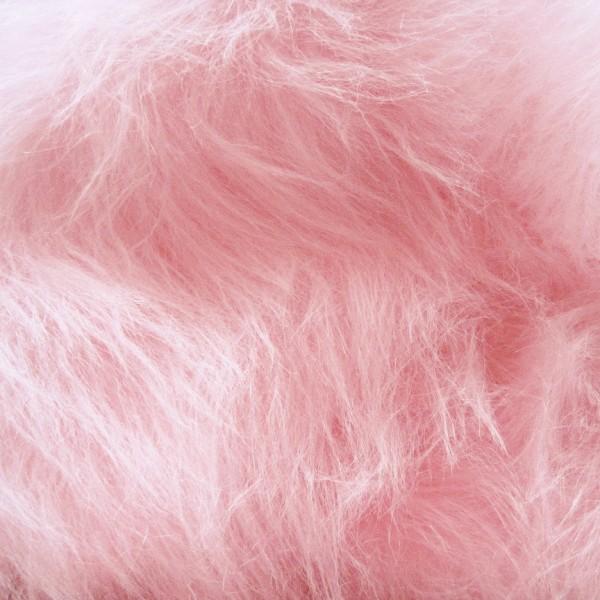 Langhaarplüsch RUDI rosa