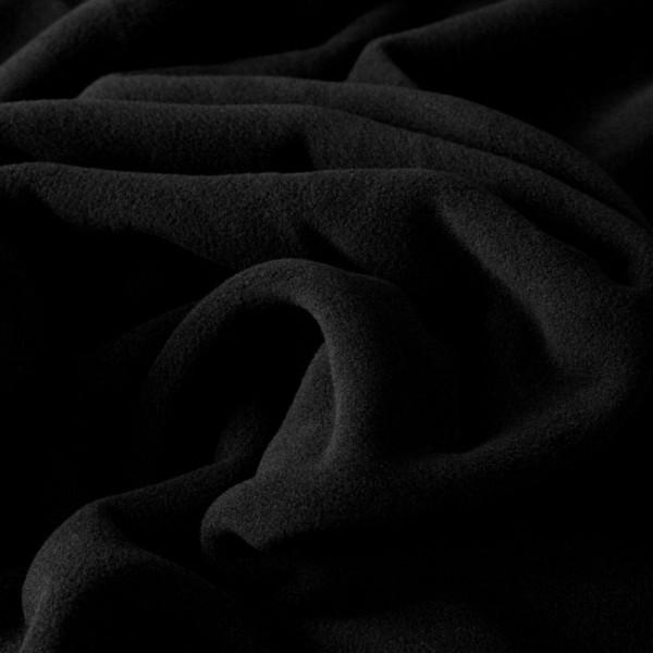 Microfleece SARNEN schwarz