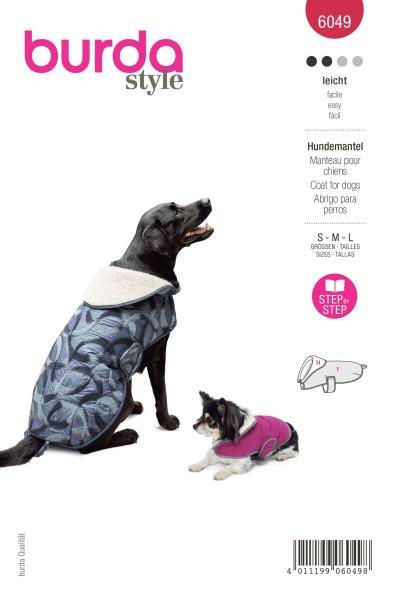 Burda Schnitt 6049 Hundemantel