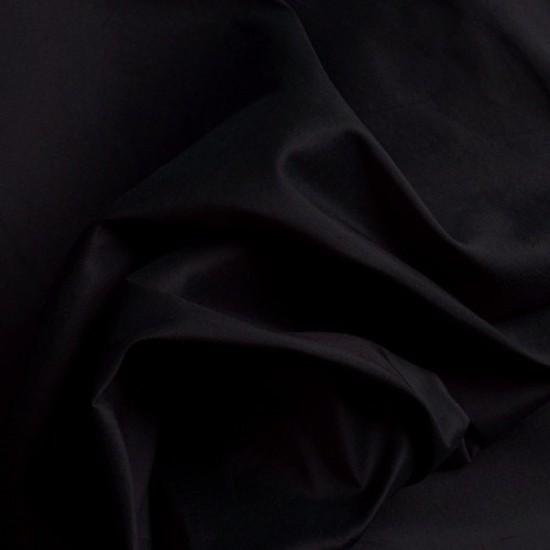 Seidentaft Stoff SILKE schwarz