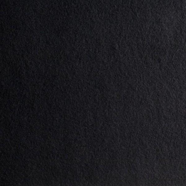 Bündchenstoff Schlauch schwarz