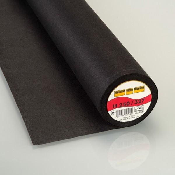 Vlieseline aufbügelbar H250 graphit