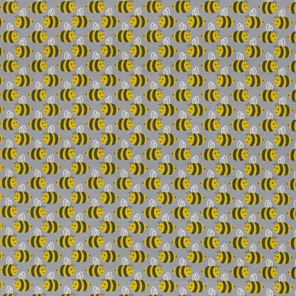 Jersey Bienen auf grau, Animal Minis by käselotti