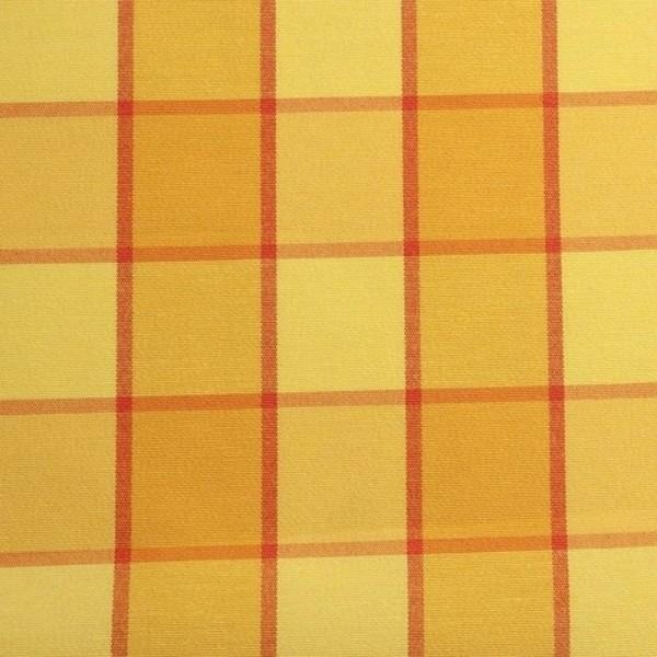 Dekostoff Karo gelb-multicolor