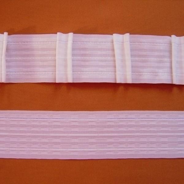 Gardinenband Automatikfalte MULTI-TASCHEN weiß - 2er-Falte