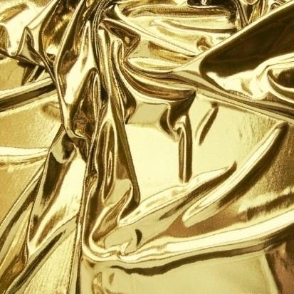 Folienstoff VENUS 110 gold (schwarz)