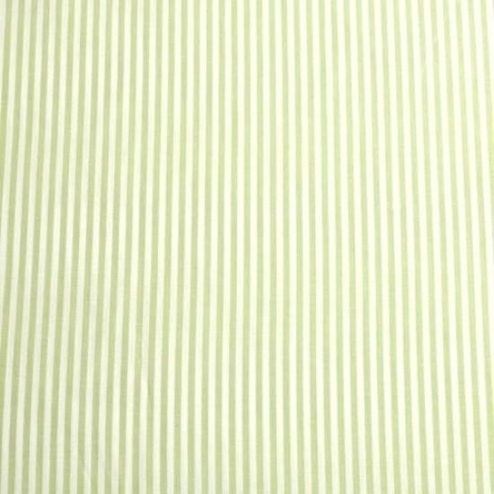 Batist STREIFEN 01 lindgrün-weiß