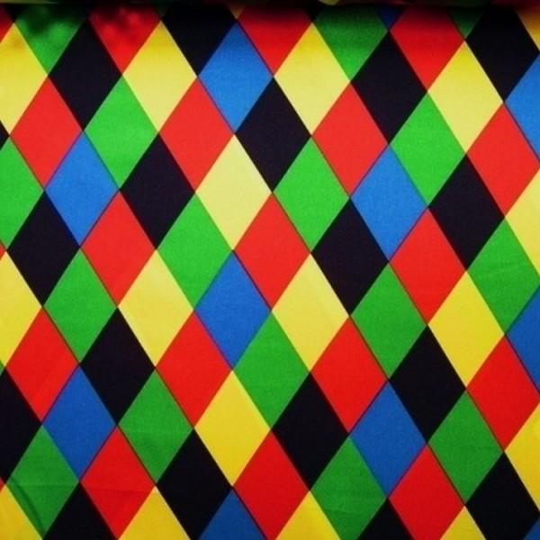 Satin Raute multicolor