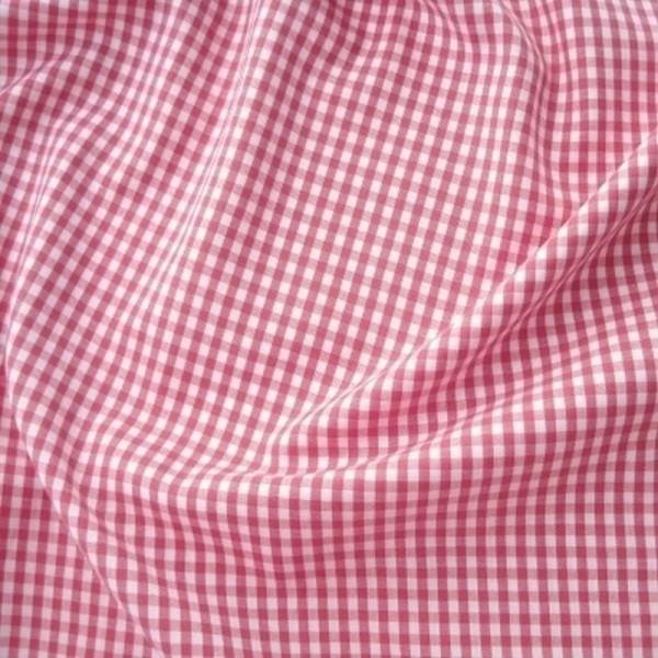 Batist VICHY-KARO 03 pink-weiß