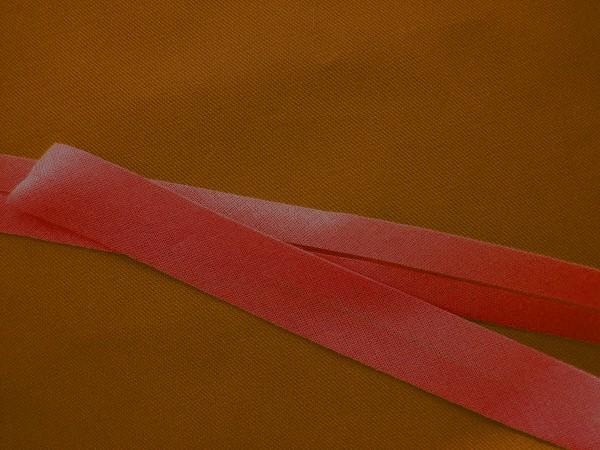 Schrägband Baumwolle 40/20 mm rot