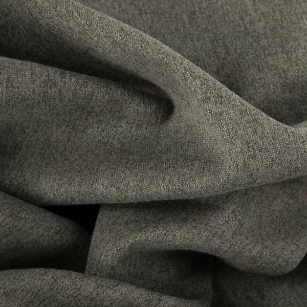 Taschenstoff anthrazit-grau meliert