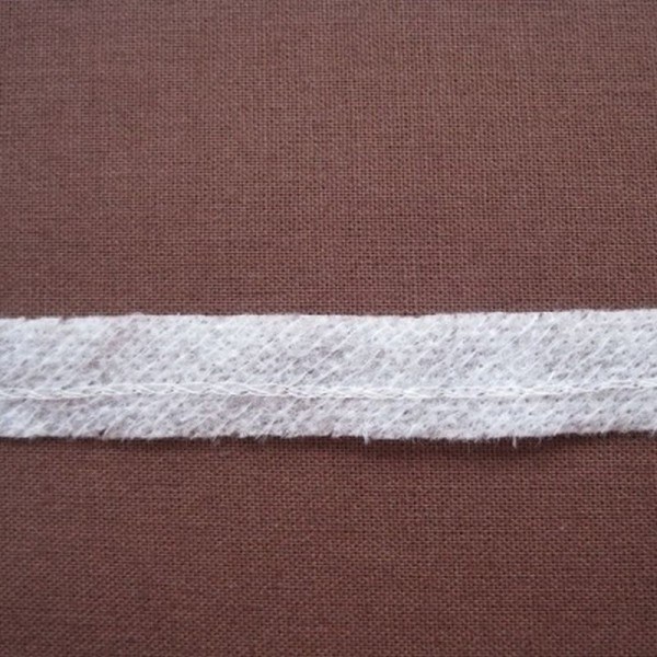 Formband Vlieseline aufbügelbar weiß