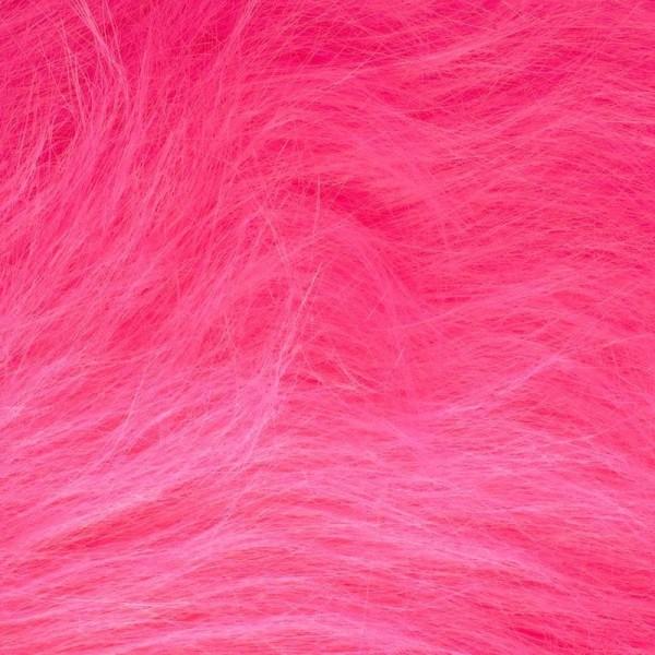 Langhaarplüsch RUDI pink