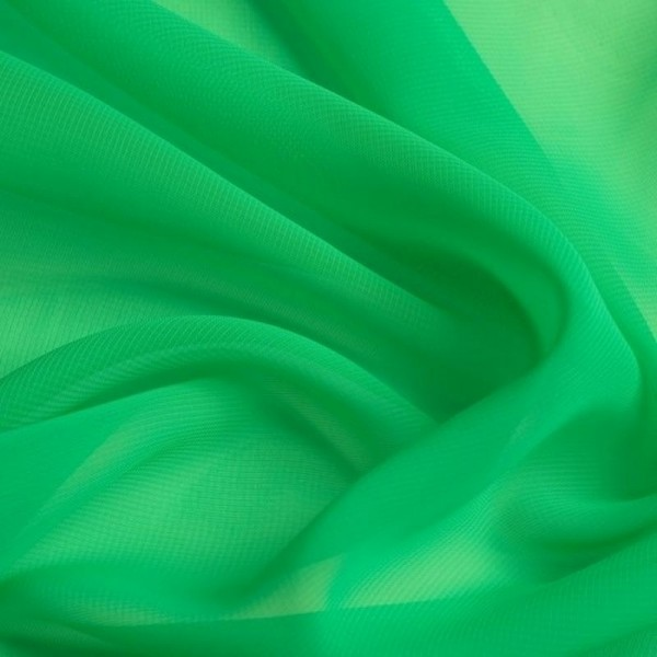 Chiffon SELINA grasgrün