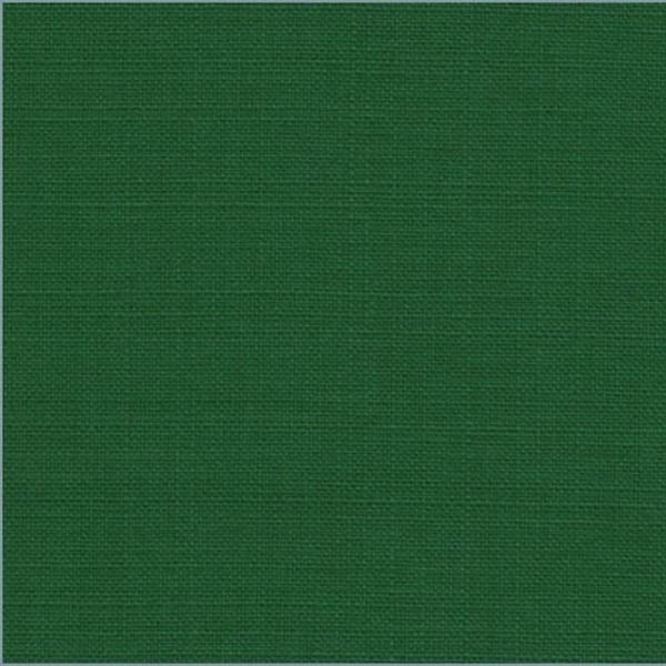 Bekleidungsstoff LEINENOPTIK dunkelgrün