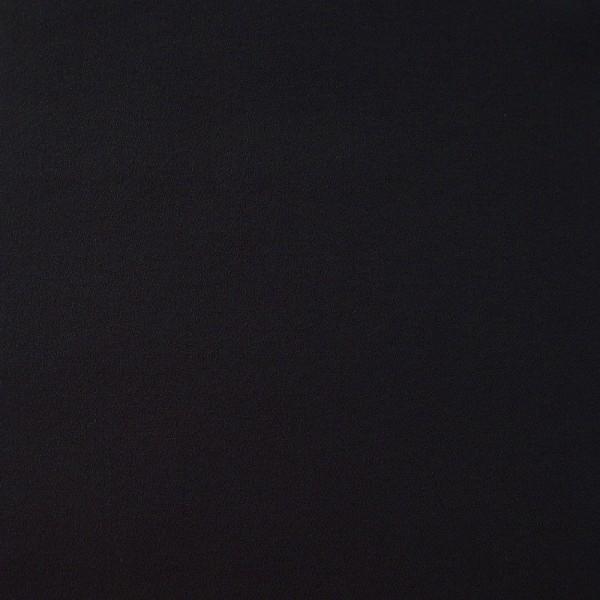 Rest Crepe Georgette schwarz 0,6 Meter