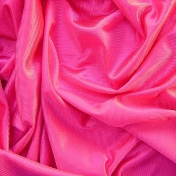 Glanzstoff Brillant pink