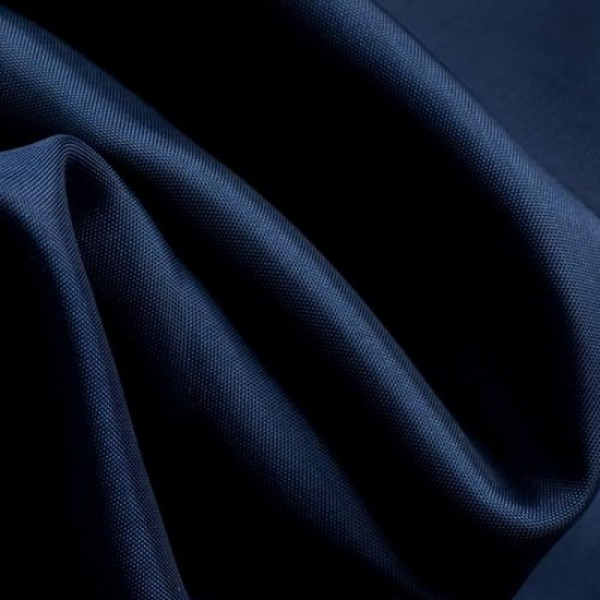 Futterstoff FINESSA dunkelblau