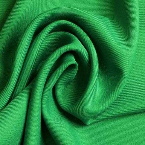 Gabardine Polyester grün