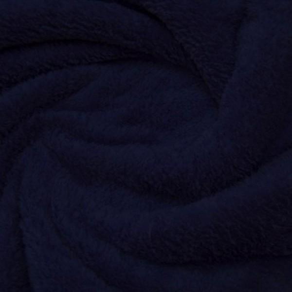 Microfleece FLAUSCH dunkelblau