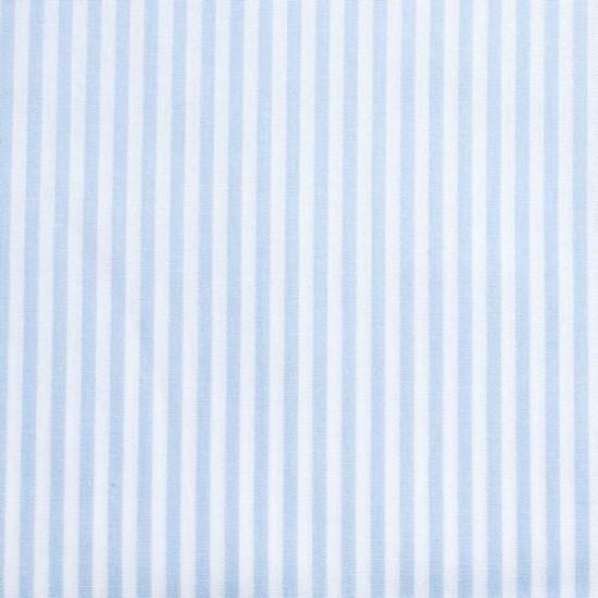 Batist STREIFEN 03 hellblau-weiß