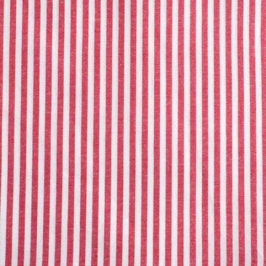 Batist STREIFEN 03 rot-weiß