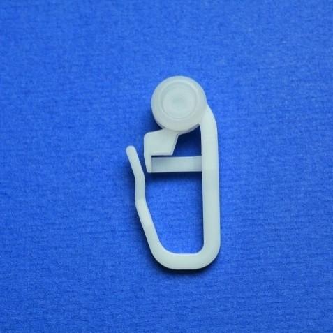 Universal Rollgleiter weiß 8mm