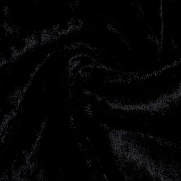 Pannesamt SARI schwarz