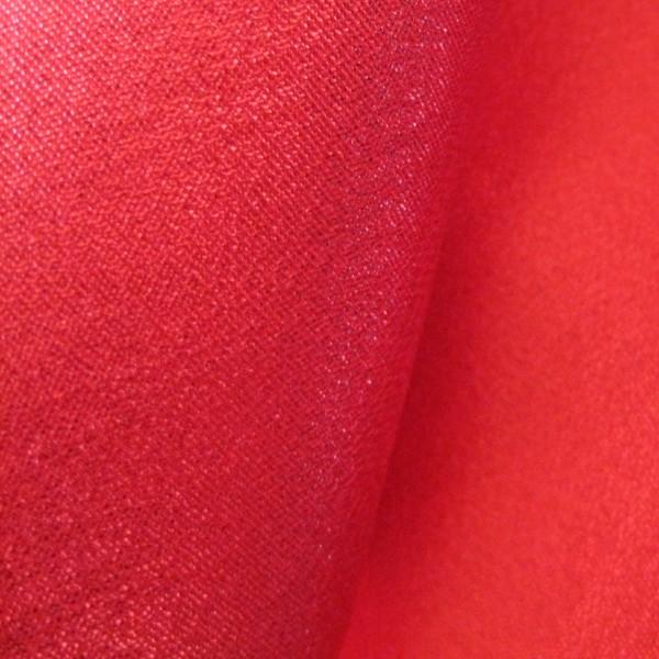 Karnevalsstoff Lurexstoff rot