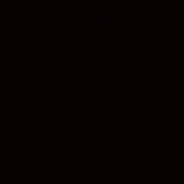 Viskosefilz schwarz