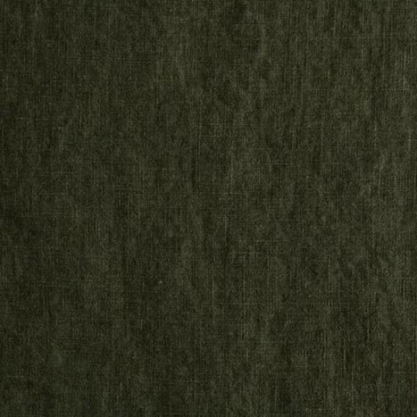 Rest Leinenstoff DAMIEL uni olivgrün 0,5 Meter