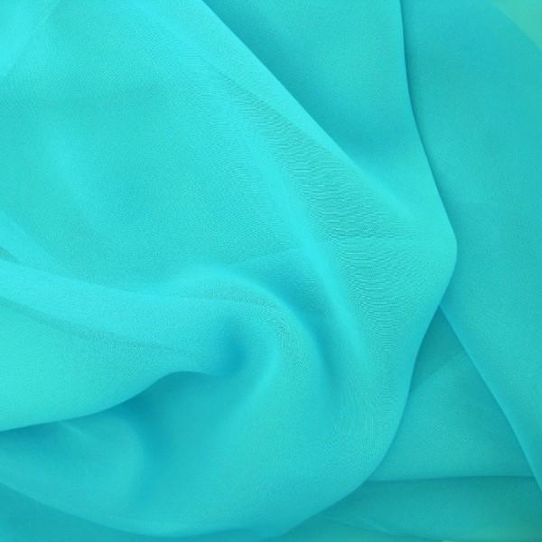 Chiffon SELINA türkisblau