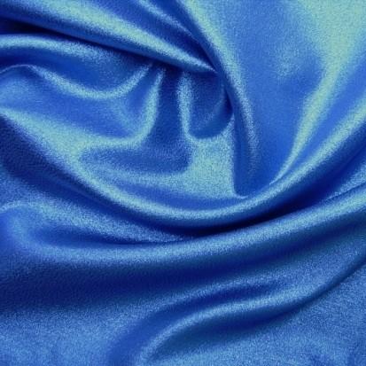 Karnevalsstoff Lurexstoff blau