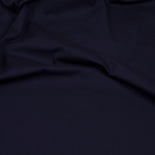 Baumwollstoff Popeline marineblau