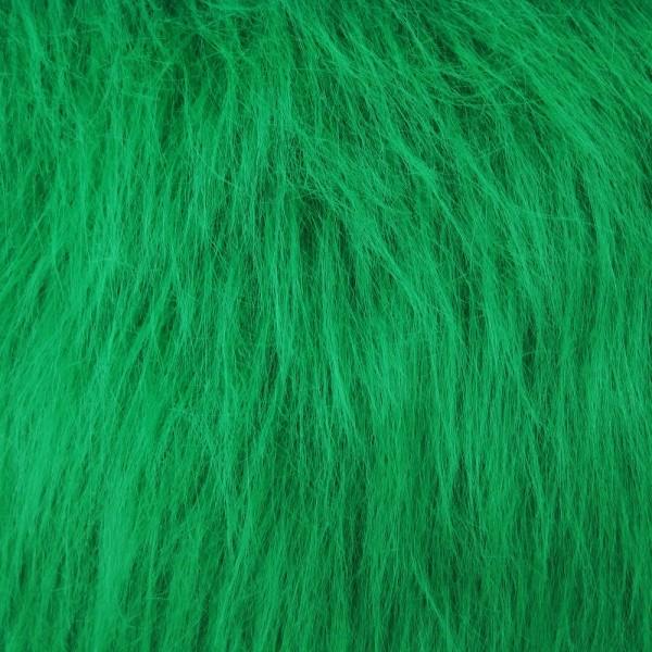 Langhaarplüsch RUDI grün