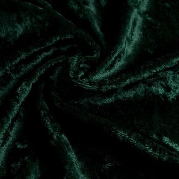 Pannesamt SARI dunkelgrün