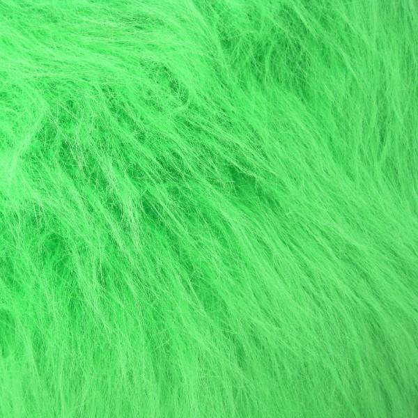 Langhaarplüsch RUDI hellgrün