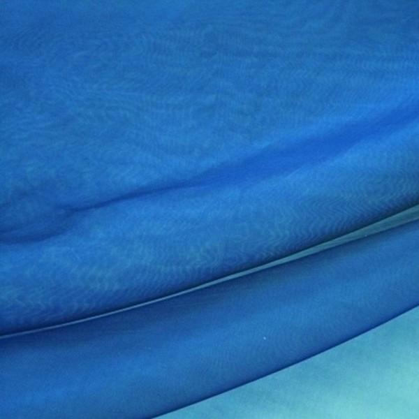 Organza GLAMOUR blau