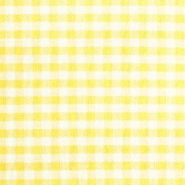 Batist VICHY-KARO 03 gelb-weiß