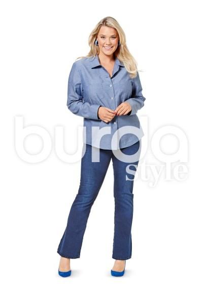 Burda Schnitt 6614 Bild 2