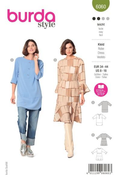 Burda Schnitt 6060 Kleid und Tunika