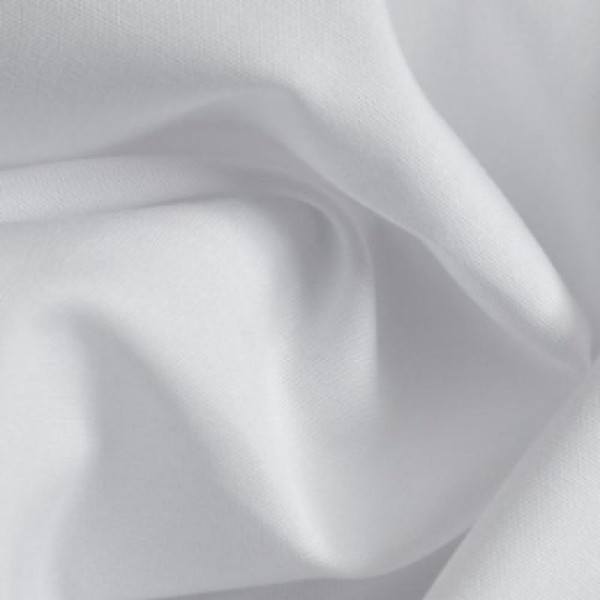 Rest Baumwollbatist weiß 0,9 Meter