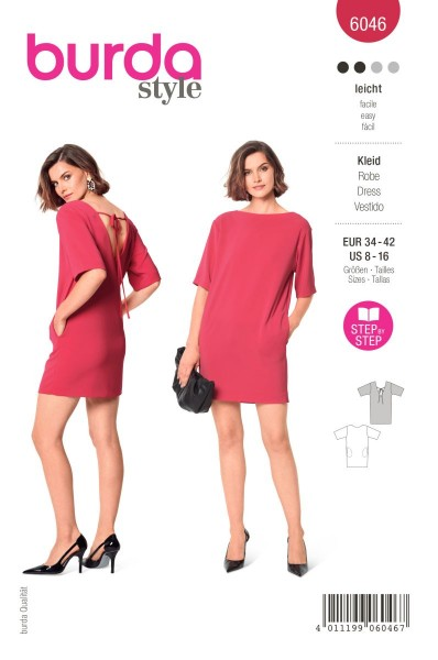 Burda Schnitt 6046 Kleid