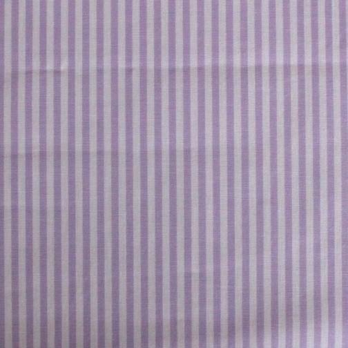 Batist STREIFEN 03 flieder-weiß