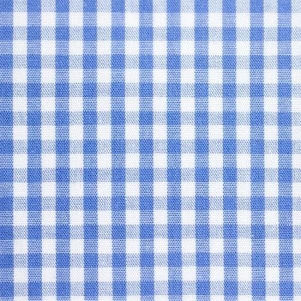 Batist VICHY-KARO 03 blau-weiß