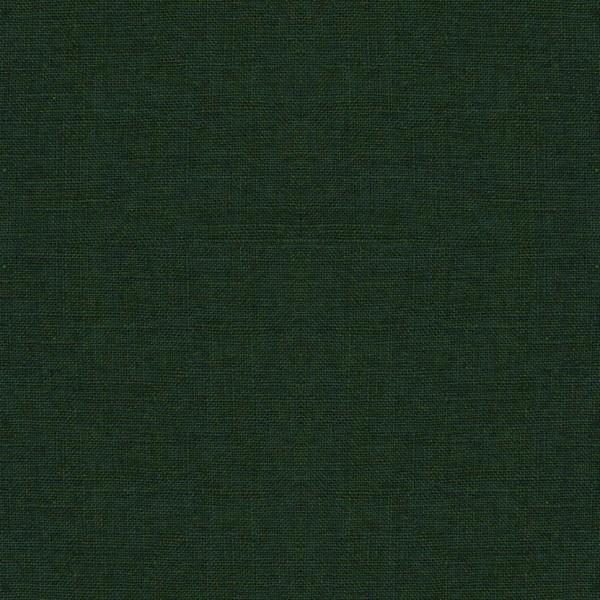 Leinenstoff Reinleinen DAMIEL uni dunkelgrün