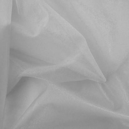 Rest Charmeuse weiß 1,6 Meter